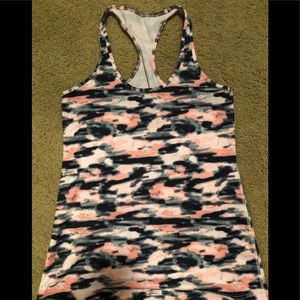 Pink camo Lululemon cool racer back